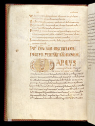 Preface of the Gospel of Mark, in a Breton Gospels